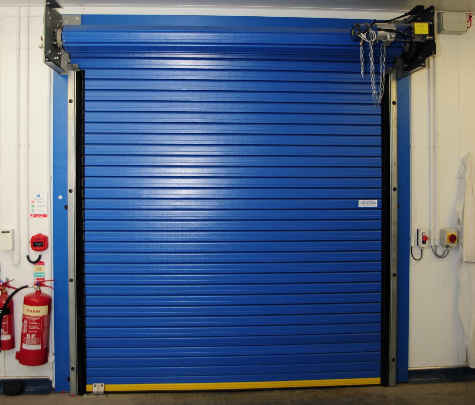 industrial garage door. 95mm Insulated Industrial Roller Door Garage