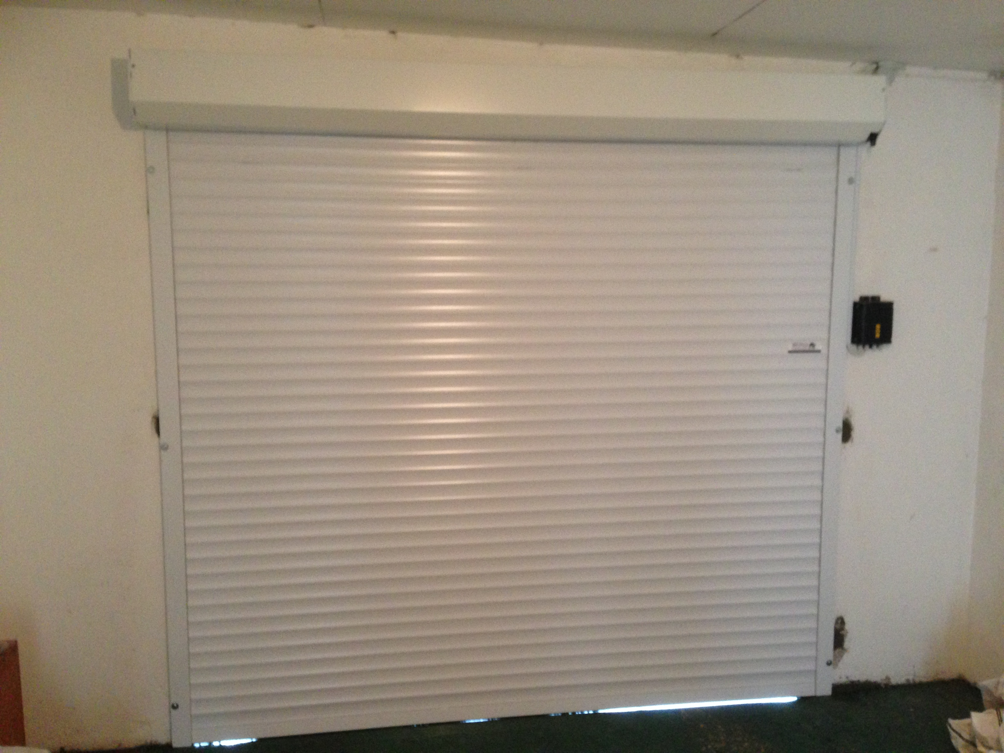 Canopy Option with Insulated Roller Doors