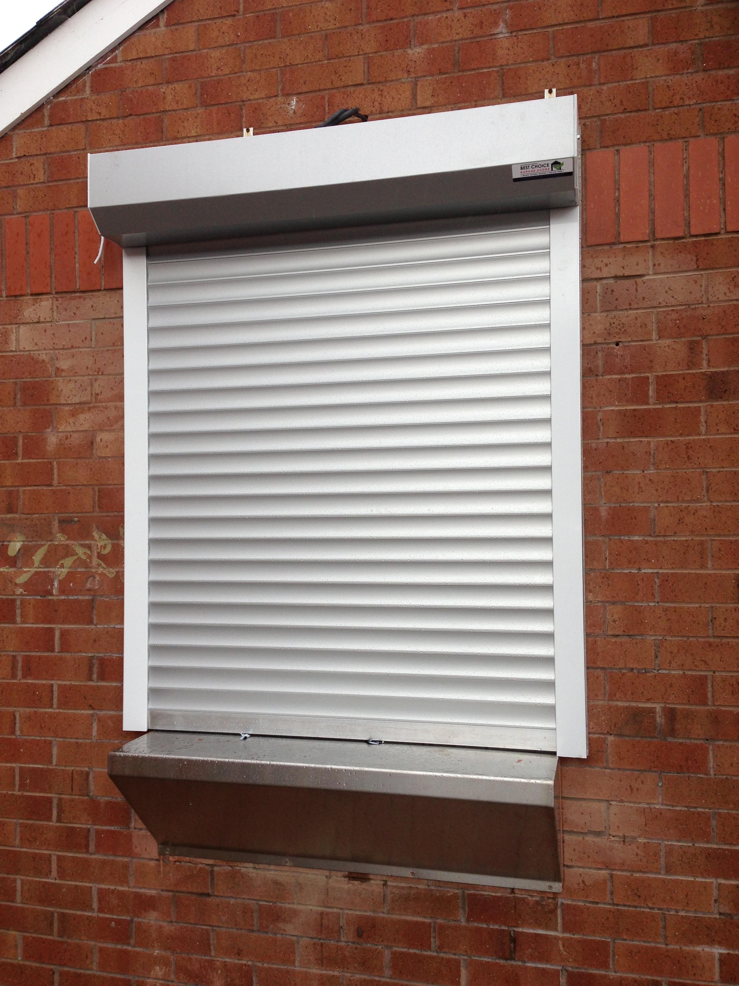 Insulated Roller Door Security Shutter
